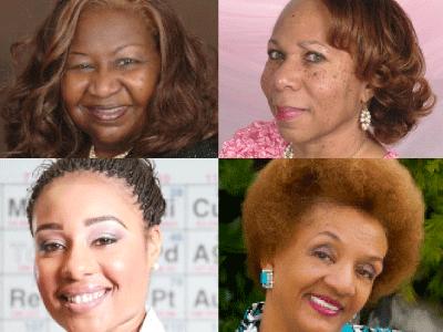 Marietta Harris, Tina Maria Scott, CaT Bobino, Yvetta Franklin author photos