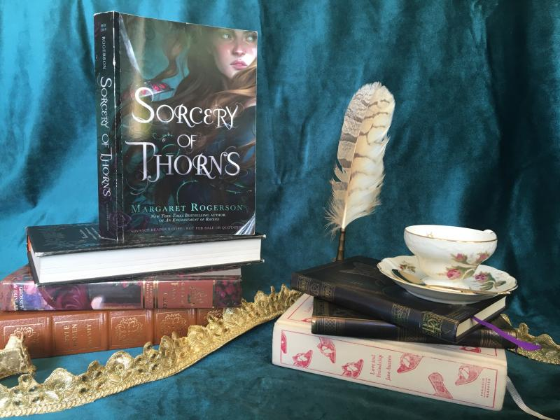 Sorcery of Thorns by Margaret Rogerson-Photo Taken By Alannah