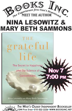 Nina Lesowitz Amp Mary Beth Sammons At Books Inc Alameda
