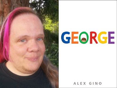 Alex Gino author photo and George cover image