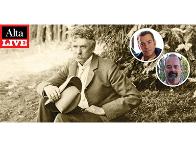 Alta Live: What Really Happened to Ambrose Bierce? with Geoffrey Gray and William Deverell banner
