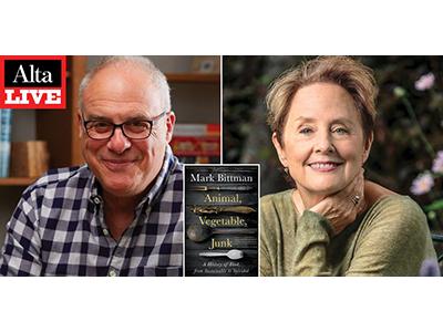 Author photos of Mark Bittman & Alice Waters