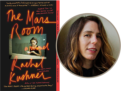 The Mars Room cover image and Rachel Kushner author photo