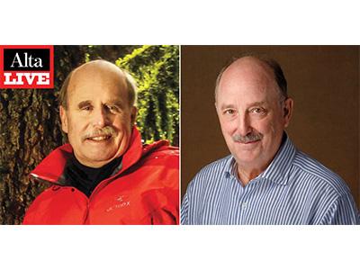 Paul Saffo and Will Hearst profile pics