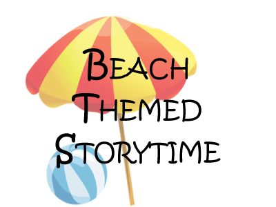 Beach Themed Storytime event banner