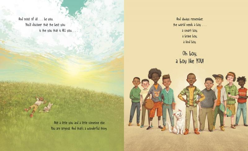 A Boy Like You Page Layout 3
