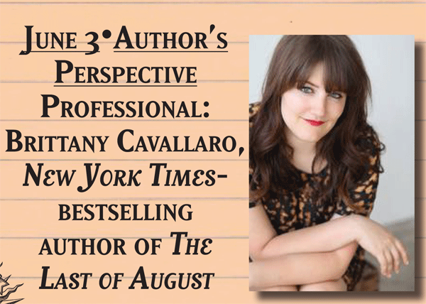 Author Brittany Cavallaro