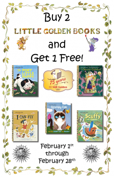 Buy 2 Little Golden Books Get 1 Free poster image
