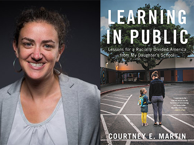 Courtney E. Martin author photo and Learning in Public cover image