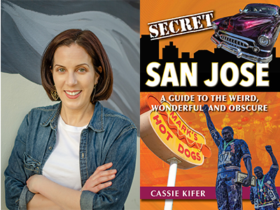 Cassie Kifer author photo and Secret San Jose cover image