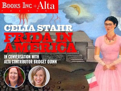 Celia Stahr Frida in America banner