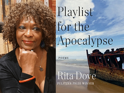 Rita Dove author photo and Playlist for the Apocalypse cover image