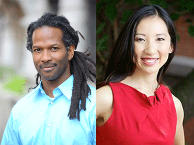 Carl Hart and Leana Wen profile photos