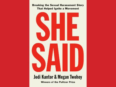 She Said cover image