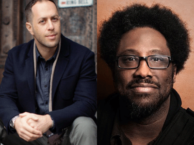 Adam Mansbach and W Kamau Bell profile photos