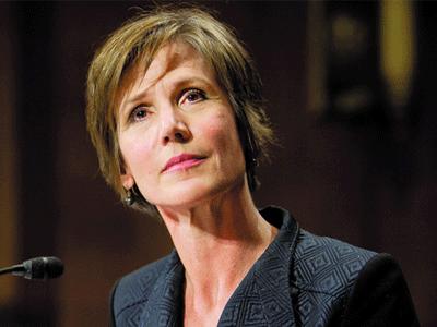 Sally Yates confirmation hearing photo
