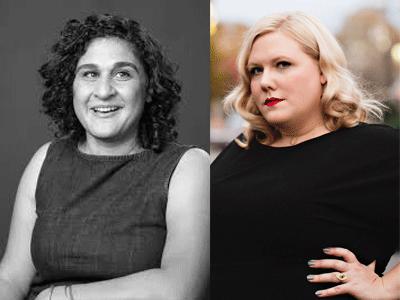 Samin Nosrat and Lindy West profile photos