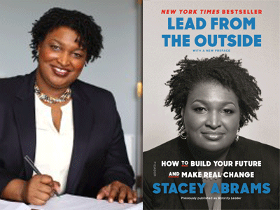 Stacey Abrams author and cover image