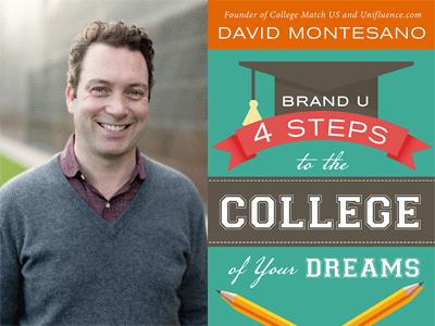 David Montesano author photo and Brand U cover image