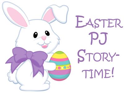Easter PJ Storytime banner