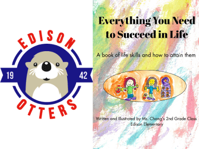 Edison Otters logo and Everything You Need to Succeed in Life cover image