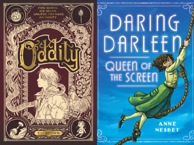 "cover images"" Oddity and Daring Darleen, Queen of the Screen"