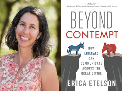 Erica Etelson author phot oand Beyond Contempt cover image