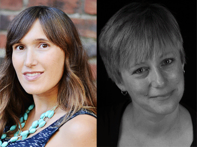 Erin Rodoni and Gillian Wegener author photos