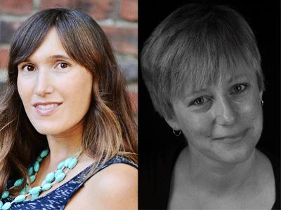 Erin Rodoni and Gillian Wegener author photos