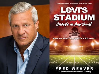 Fred Weaver author photo and Levi's Stadium cover image