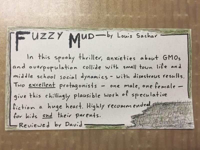 Staff Review for Fuzzy Mud