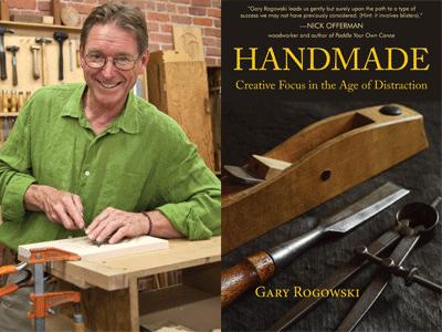 Gary Rogowski author photo and Handmade cover image