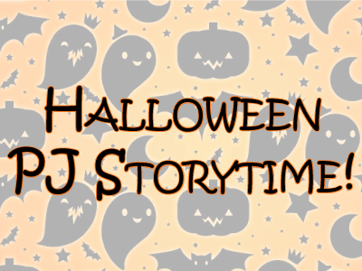 Halloween Storytime banner