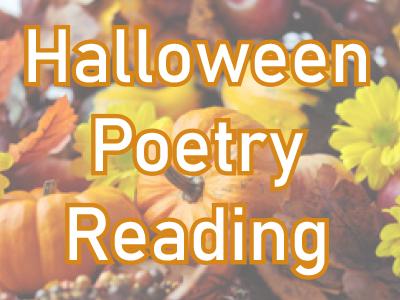 Halloween poetry reading
