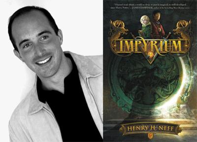 Henry H. Neff Author Photo and Impyrium Cover Image