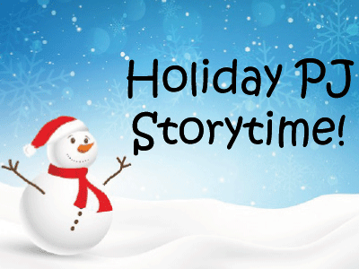 Holiday Storytime banner