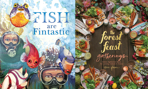 cover images for Fish are Fintastic and Forest Feast Gatherings