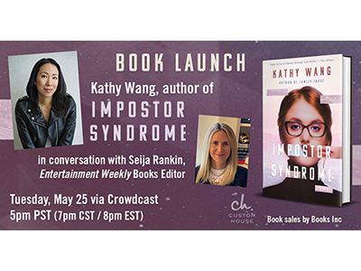 Book Launch: Imposter Syndrome