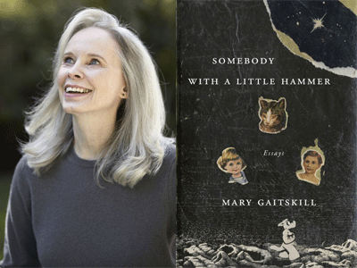 Mary Gaitskill author photo and Somebody with a Little Hammer cover image