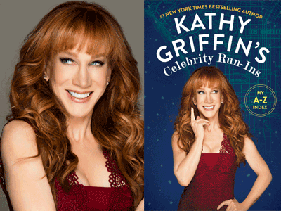 KATHY GRIFFIN COVER AND PHOTO