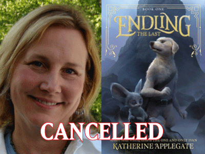 Cancelled Katherine Applegate banner