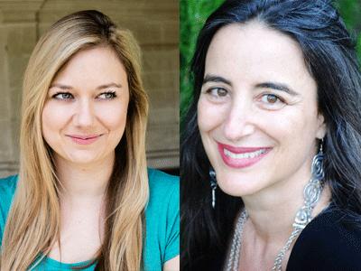 Katherine Webber and Jandy Nelson profile photos