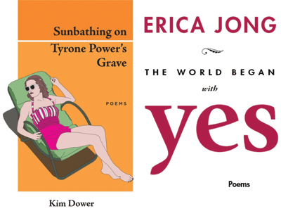 Cover images for Kim Dower and Erica Jong
