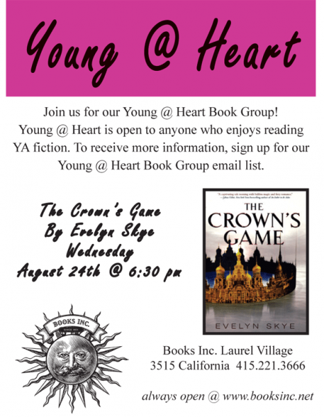 Young @ Heart Book Club Poster