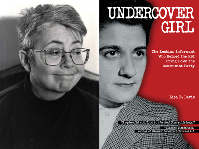 Lisa E. Davis author photo and Undercover Girl cover image