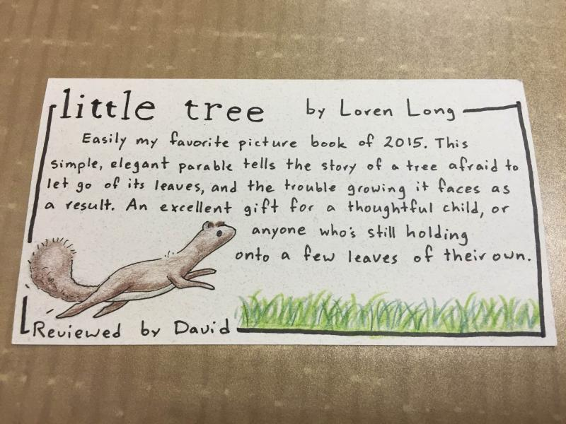Staff Review for Little Tree