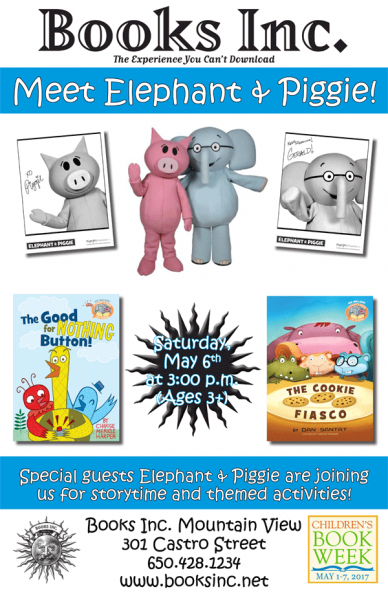 Elephant and Piggie Story Time Poster