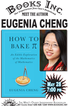 DR. EUGENIA CHENG at Books Inc. Mountain View | Books Inc. - The ...