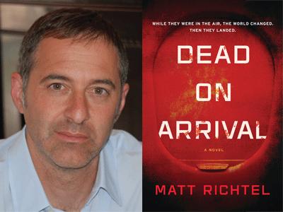 Matt Richtel author photo and Dead on Arrival cover image