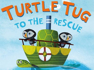 Turtle Tug To the Rescue cover image - cropped